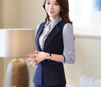 北京女式衬衫短袖职业装